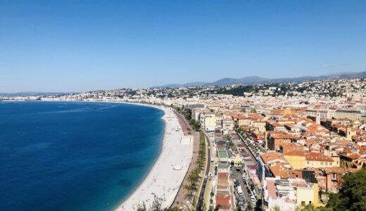【フランス:ニース】ヨーロッパ屈指のリゾート地|地中海xシーフードxシャガール美術館