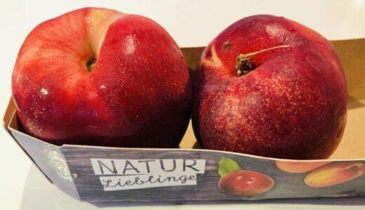 ネクタリンは桃とリンゴの間みたいな果物