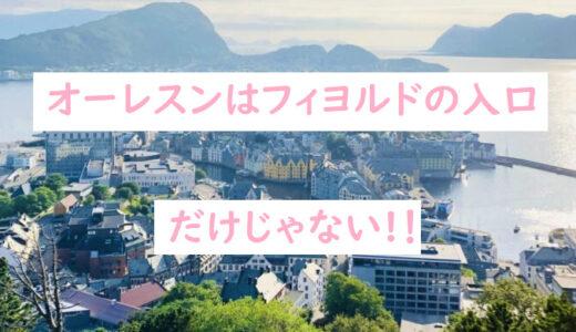 【ノルウェー:オーレスン】フィヨルド観光の拠点だけじゃない|干ダラxアクスラ山xアールヌーヴォー