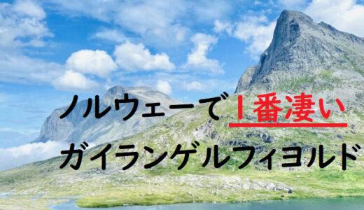 【ノルウェー:ガイランゲルフィヨルド】世界遺産|オーレスンからオスロへの片道ルート