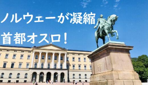 【ノルウェー:オスロ】ノルウェーの首都を観光|文化x歴史x芸術x食が盛りだくさん!